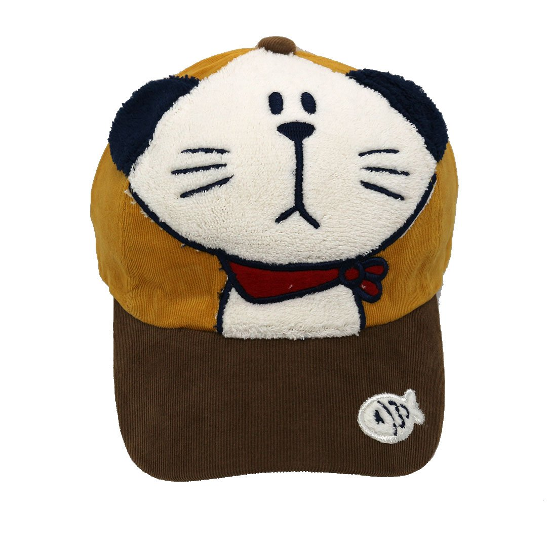Novias Kid Super Cute 3D Monkey Cotton Baseball Cap Adjustable Hat for Boys/&Girls