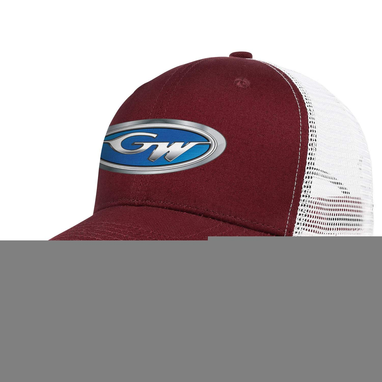 Dad Mesh Hat Grady-White-Logo Snapback Mens Womens Adjustable Rock Cap