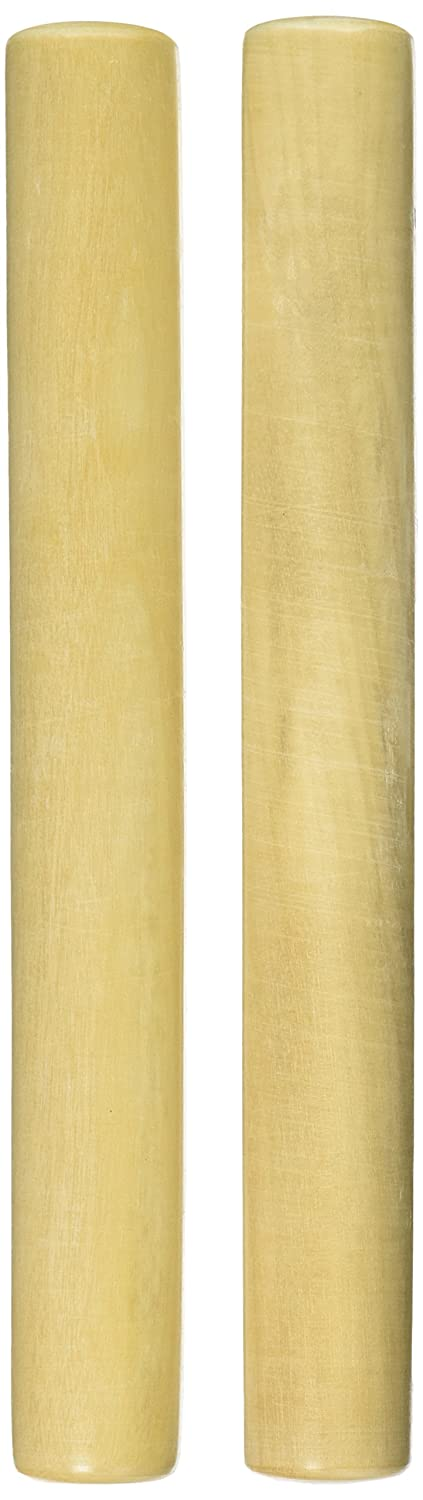 Gon Bops Traditional White Wood Claves Inc. PCLAVW