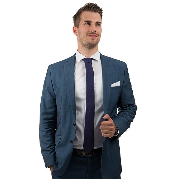 Corbata para hombre Good.designs, slim fit, cosida a mano de ...