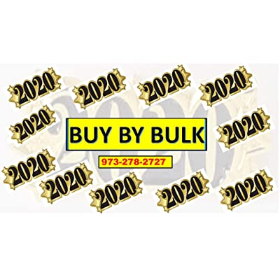 Gold Year 2020 School, Graduation,Happy New Years, Anniversary Lapel Pin 2020 Happy New Year 2020 Gold Pin 2020 Grad 2020 Graduation Cap Pin 2020 Bulk Pin 2020 Wholesale 2020 2020 Fast DELIVERY (48): Arts, Crafts & Sewing