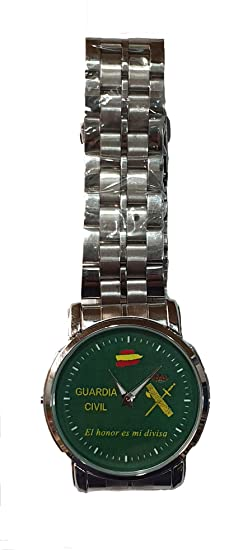 Reloj Pulsera de la Guardia Civil. Elegante único y Exclusivo ...