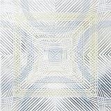 Bird's Eye View Blue/Yellow Window Deflector 10 x 10 cm