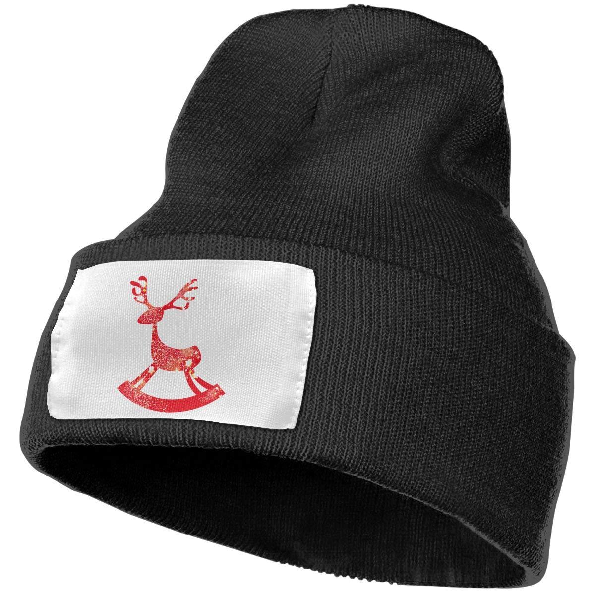 Amazon.com  Reindeer Unisex Knit Hat Cap Soft Warm Winter Hat Beanie Skull Caps  Winter Gift  Clothing 57d3f7df7b3