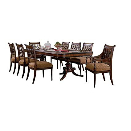 Amazon.com - JWLC Imports 36070 Regency Rectangle Dining ...