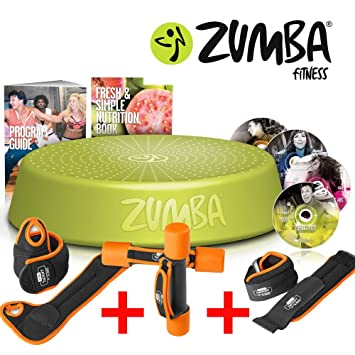 Zumba Fitness Incredible Results DVD Set + Step Rizer - + Fitness - Juego de pesas: Amazon.es: Deportes y aire libre