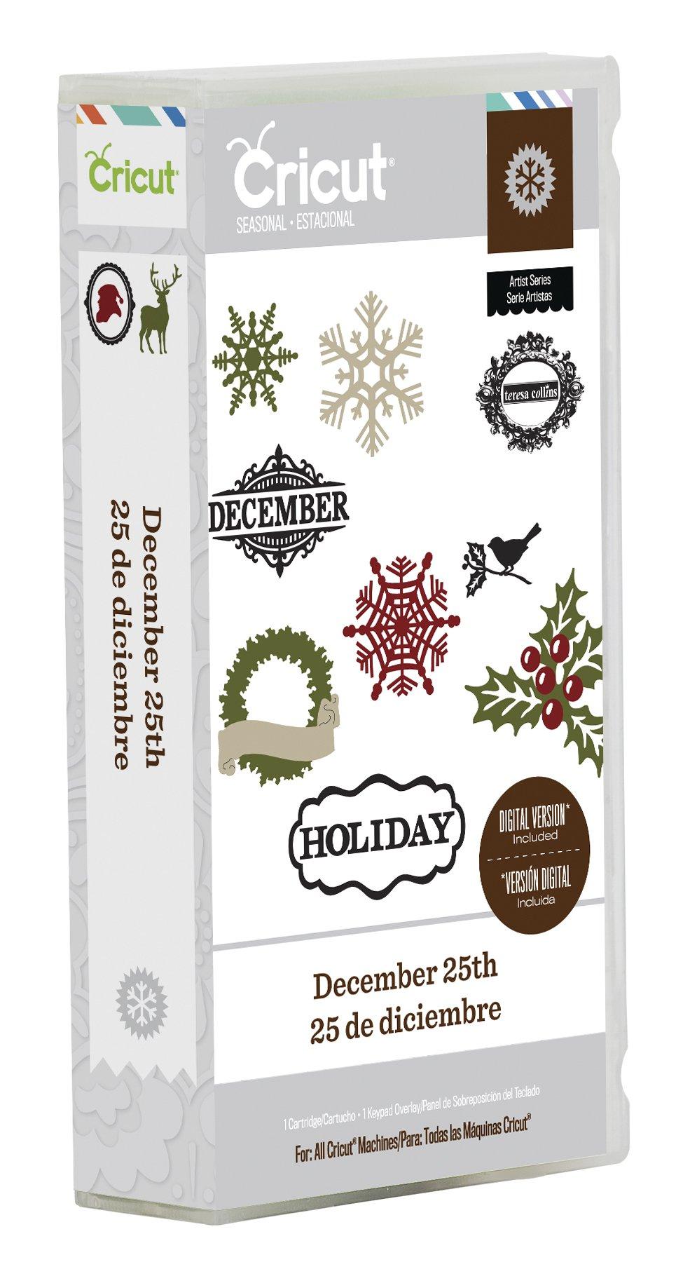 Cricut Seasonal Cartridge, December 25th