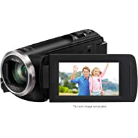 Panasonic Full HD Video Camera Camcorder HC-V180K, 50X Optical Zoom, 1/5.8-Inch BSI Sensor, Touch Enabled 2.7-Inch LCD…
