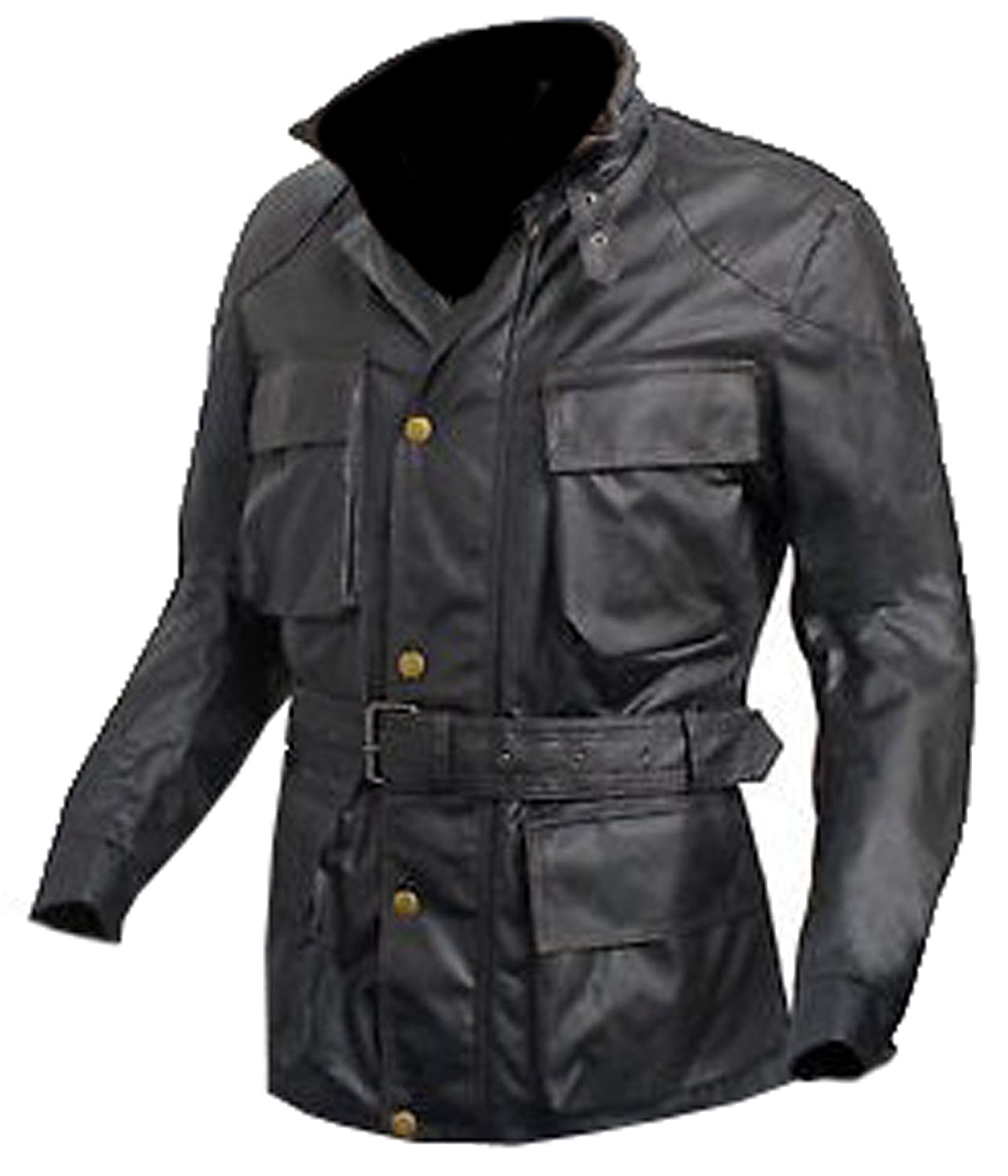 The Dark Knight Rises Tom Hardy Bane CowHide Black Leather Coat Jacket