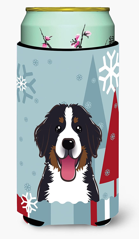 Caroline's Treasures 冬の休暇 バーニーズマウンテン犬 背の高い男の子 クージーハガー マルチカラー