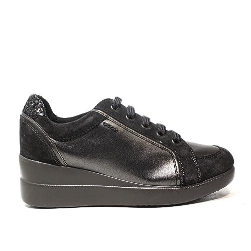 Zeppa Scuro C9002 Con 0aj22 D6430a Sneaker Colore Grigio Geox Nuova w86q7Xn