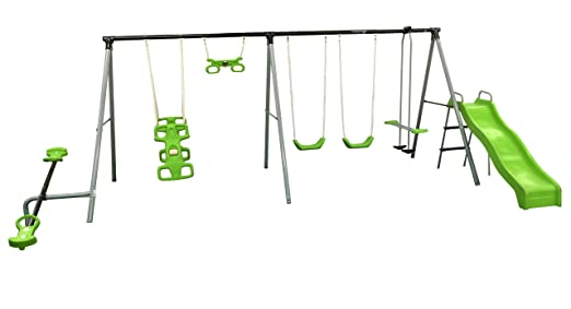 "Flexible Flyer ""World Of Fun"" Swing Set Review"