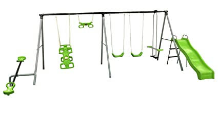Merveilleux Flexible Flyer U0026quot;World Of Funu0026quot; Swing Set