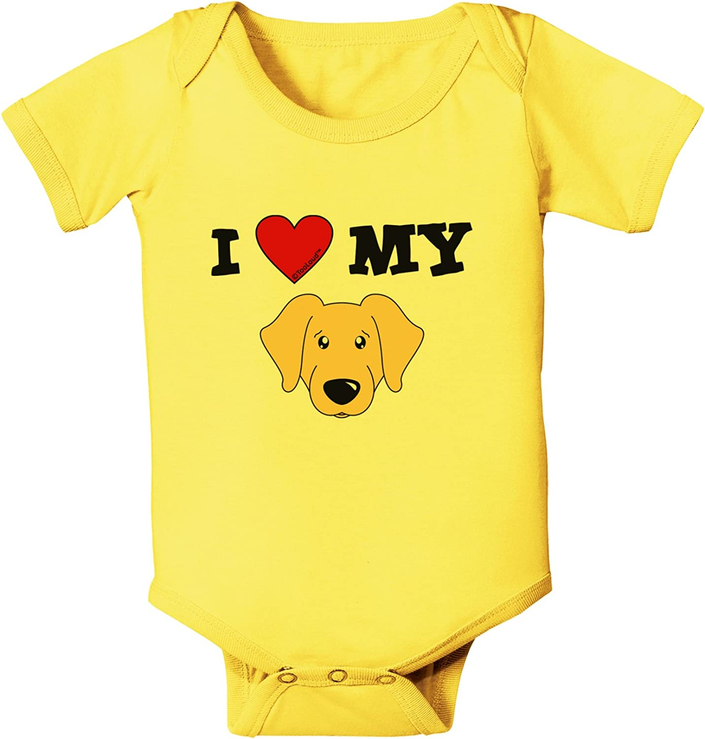 TooLoud My Dogs Walk All Over Me Infant T-Shirt