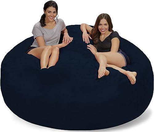 Chill Sack Bean Bag Chair: Giant 7' Memory Foam Furniture Bean Bag
