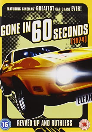 Gone in 60 Seconds (1974) [DVD]: Amazon co uk: H B  Halicki