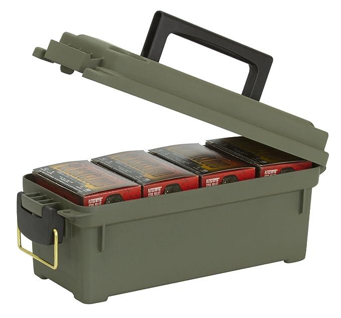 5 opinioni per Plan, scatole per munizioni, per cartucce fucili, colore verde militare