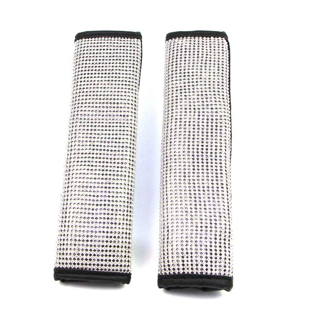 Luster Crystal Car Protective Handle Cover Diamond Car Decor Accessories U/&M Bling Bling Auto Safety Door Handle Cover Handle Cover