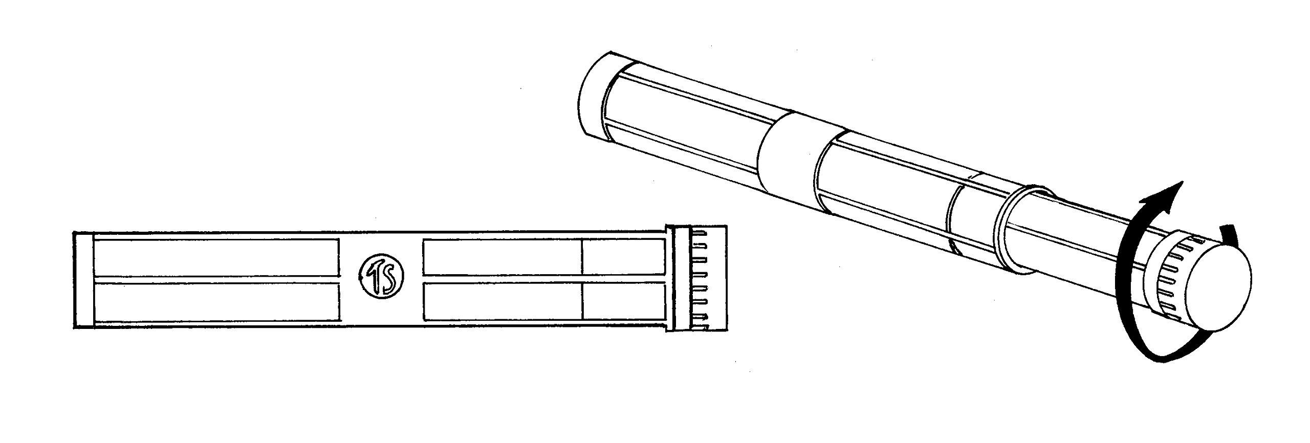 Alvin TS2 Telescoping Tube 3 inch I.D.