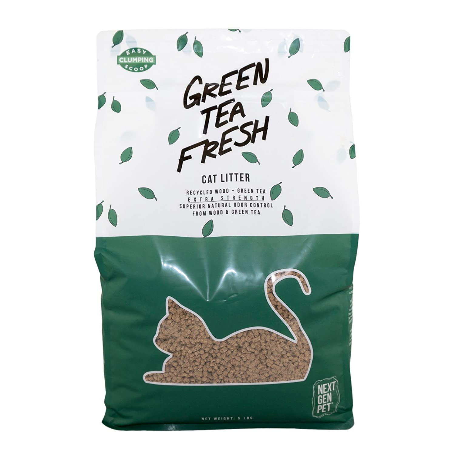 Next Gen All Natural Green Tea Leaves Cat Litter