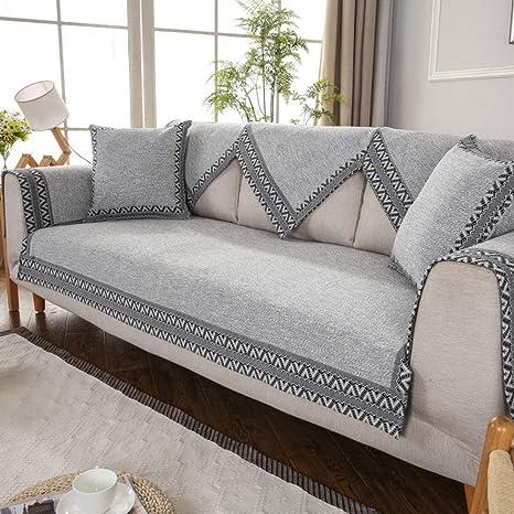 Amazon.com: AFAHXX Thicken Non-Slip Sofa Cover Slipcover ...