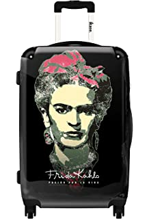 Frida Khalo Peacock,Luggage,Hardside suitcase,Spinner,Upright Luggage,Carry-on 20 inches