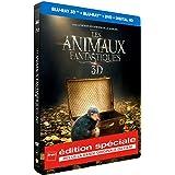 Les Animaux Fantastiques [Edition Spéciale Fnac Steelbook Blu-ray 3D + 2D + BO]