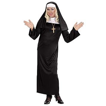 WIDMANN Disfraz de Monja recatada para Mujer - M