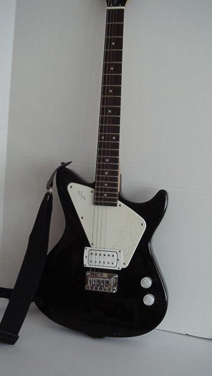 Primera Ley 222 guitarra eléctrica Pack – Negro (al4042)