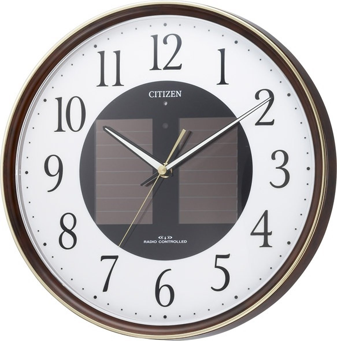 Amazon citizen citizen wall clock eco life m807 radio amazon citizen citizen wall clock eco life m807 radio clock solar power eco mark 4my807 023 home kitchen amipublicfo Image collections