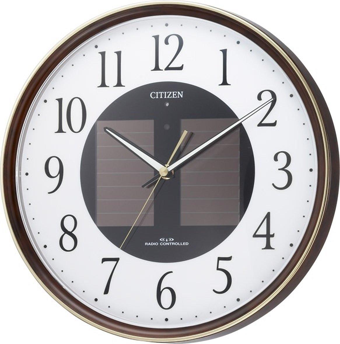 CITIZEN ( Citizen ) wall clock Eco Life M807 radio clock solar power Eco Mark 4MY807-023
