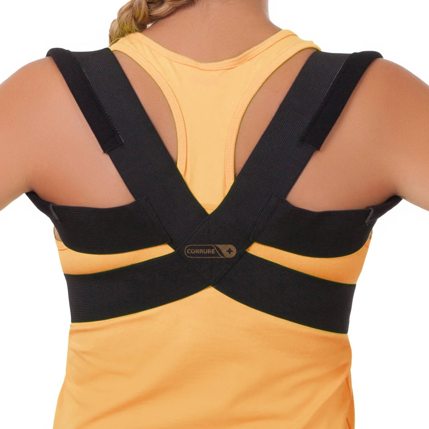 Comfortable Posture Corrector for Women and Men - Discreet Back Support for Women, Designed for Kids and Adults - Posture Brace Corrector and Clavicle Support for Men That Fixes Slouching & Hunching