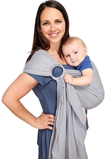Amazon Com Maya Wrap Lightly Padded Ring Sling Slate Medium