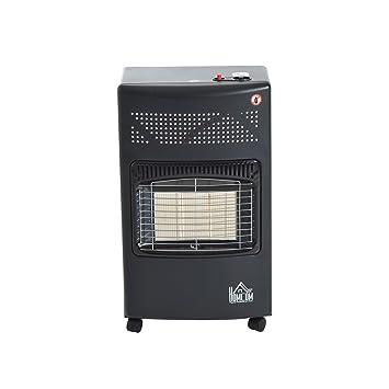 Homcom® calefactor de gas con líquido Gas Gas Estufa Horno de Gas calefactores Estufa de gas gas calefactor 4200 W: Amazon.es: Bricolaje y herramientas