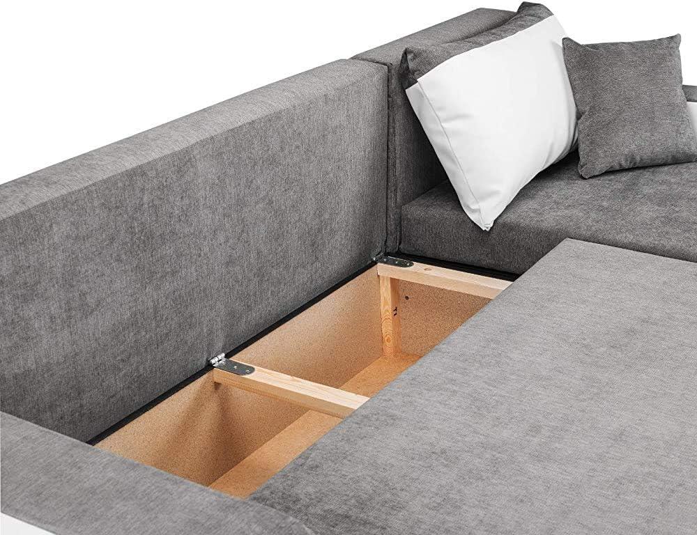 des canap/és SWAOOS Meubles de Salon Un canap/é-lit,White