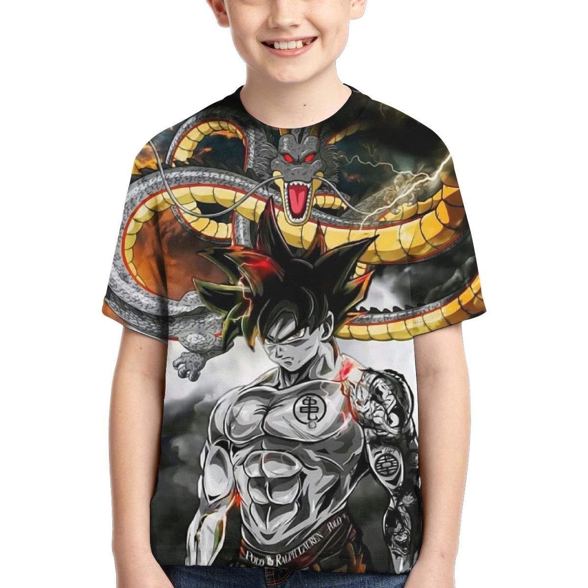 Dragon-Ball 3D Printed Shirt for Boys//Girls