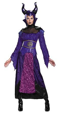 Disney Descendants Maleficent Outfit Womens Fancy Dress Halloween Costume