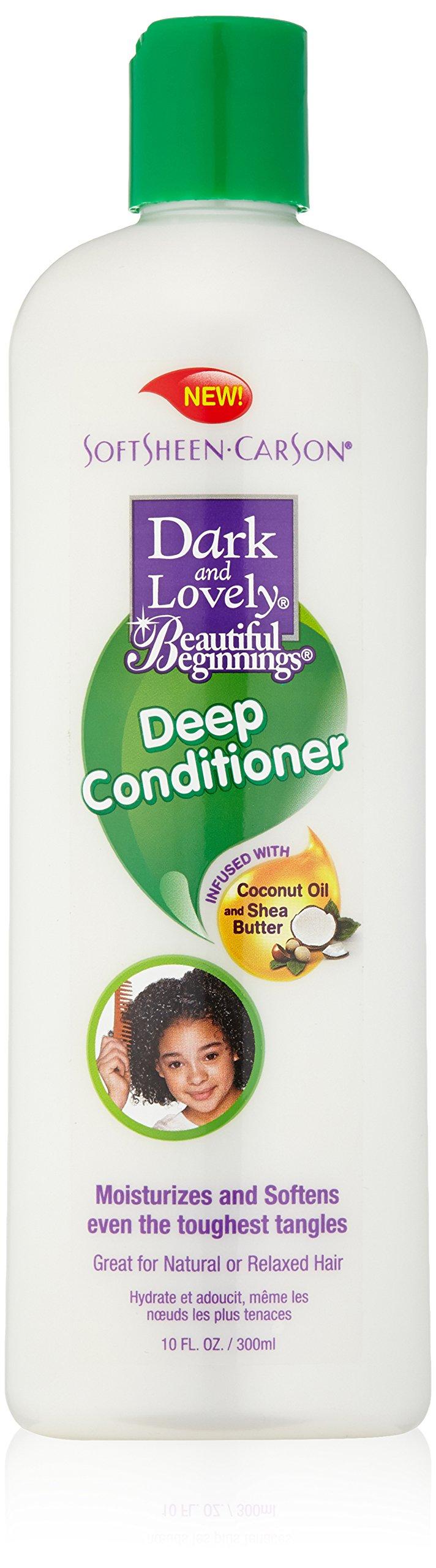 Dark and Lovely Beautiful Beginnings Deep Conditioner, 10 Fluid Ounce