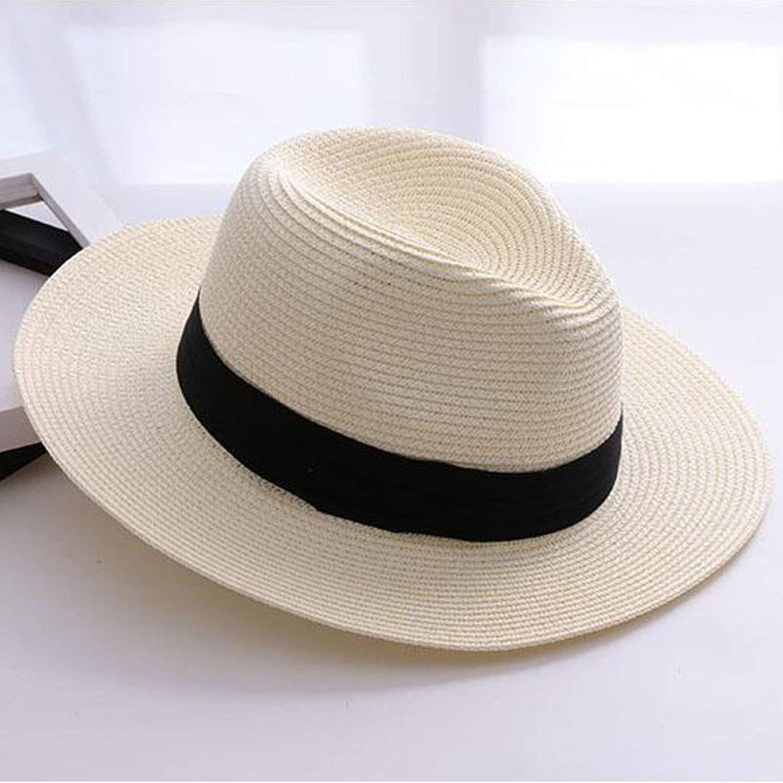 Dream-Cabin Brand Straw Hats for Women Hat Beach Casual Sun Hat