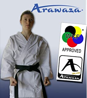 shureido new wave 3 kata wkf karate gi uniform white by kamikaze 1