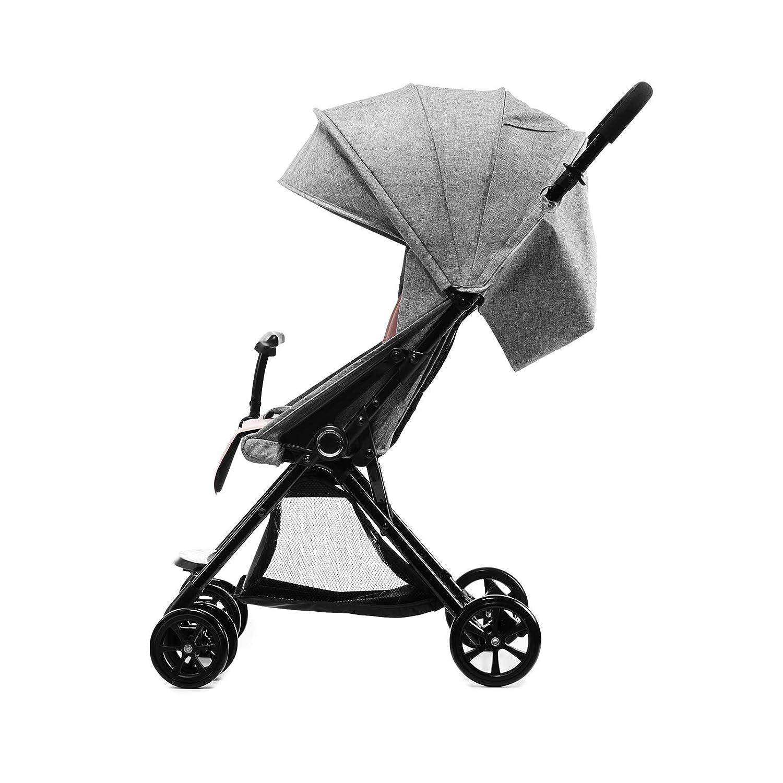 kk Kinderkraft KKWLITUPNK0000 - Silla de paseo plegable, unisex: Amazon.es: Bebé