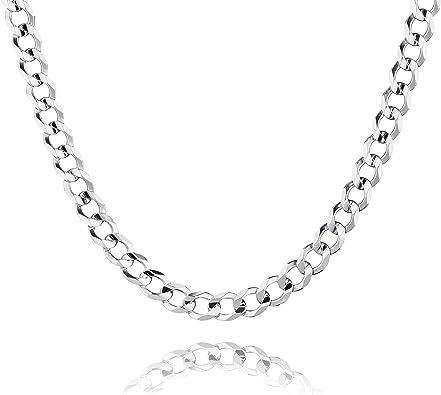 ideal als Geschenk f/ür Mann oder Freund STERLL Herren-Kette aus massivem 925 Silber mit Schmuckbox