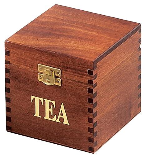 Amazon.com: Caja de té, Polonia hecho a mano, gran idea de ...
