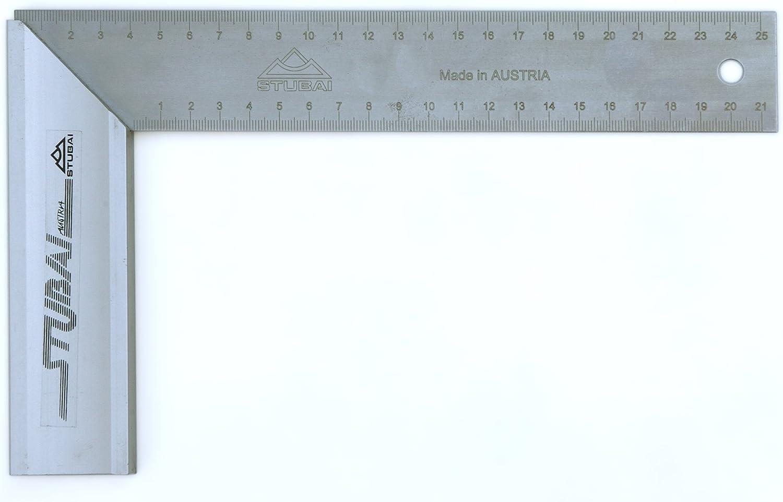Stubai 343030 Equerre de menuisier gradu/ée,300x170 mm