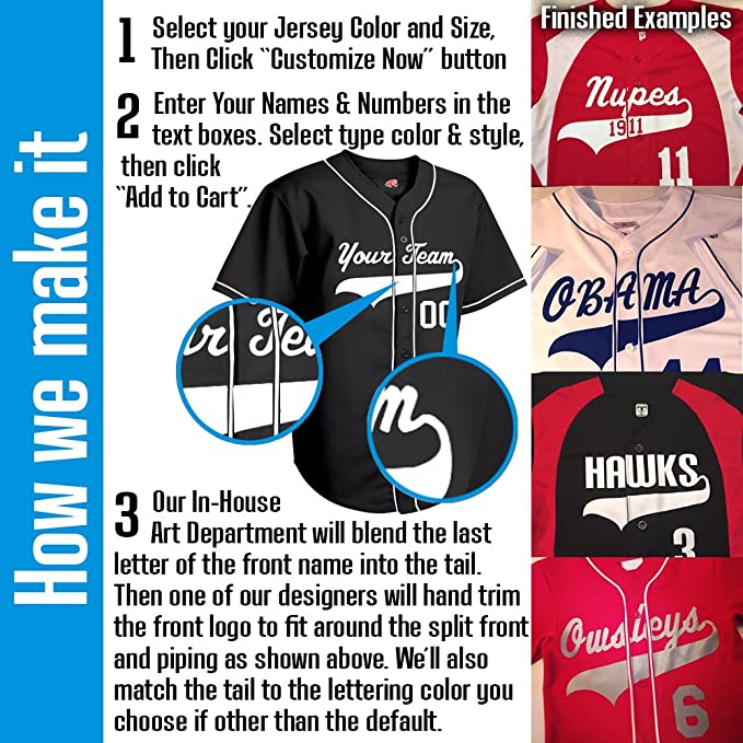 9cee068f8 Amazon.com  Hardkor Sports Major Team Colors V-Neck Custom Baseball Jersey  with names and numbers  Clothing