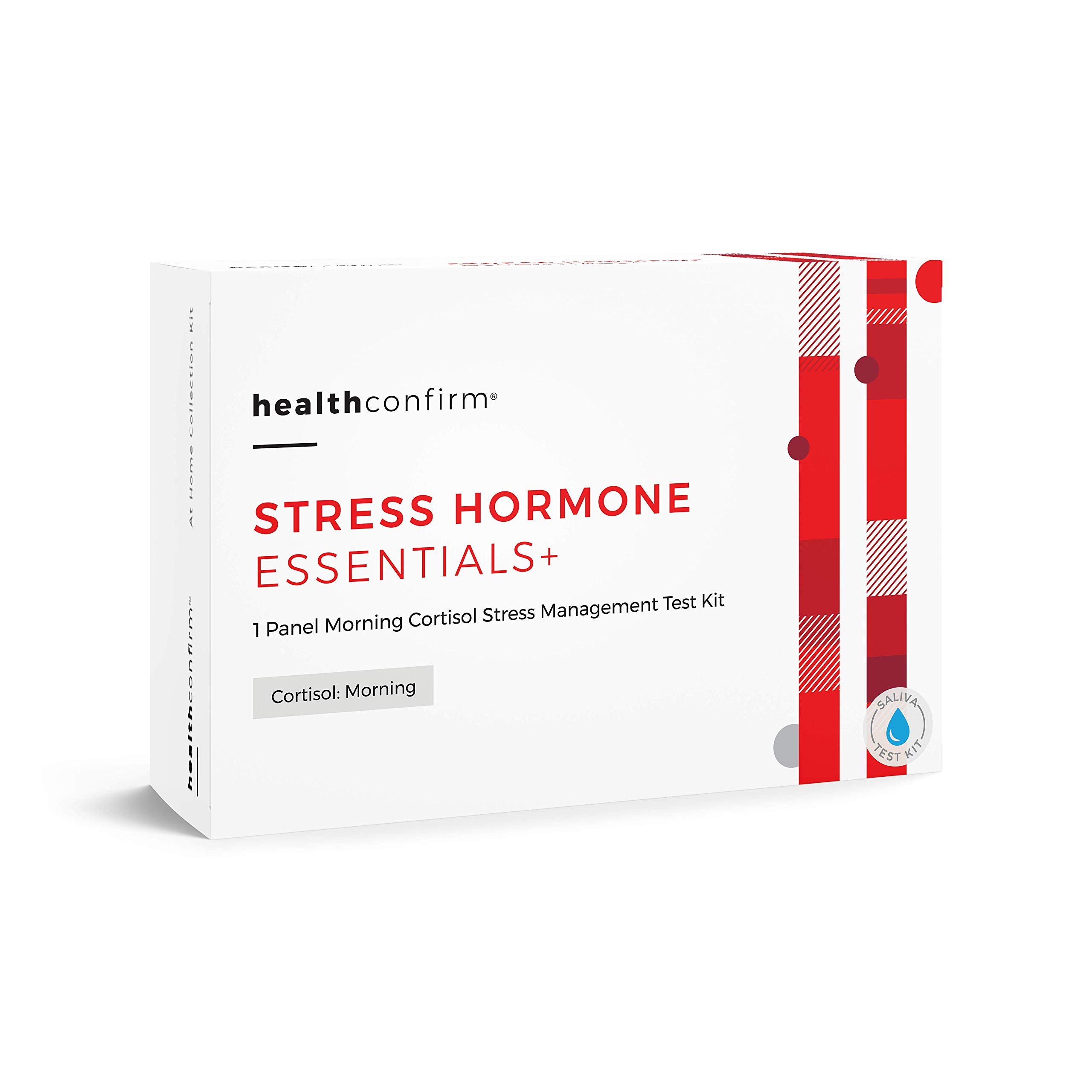AM Cortisol (C) - Saliva Hormone Level Imbalance Testing Kit by TestCountry/ZRT Laboratory
