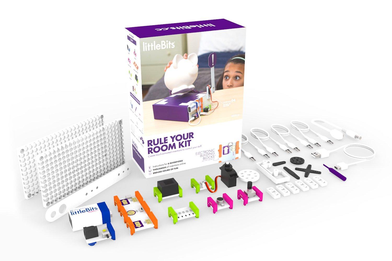 【返品送料無料】 littleBits 電子工作 YOUR 組み立てキット RULE 組み立てキット YOUR B0761JP25P ROOM KIT B0761JP25P, 麺のたつみ:5f8449d5 --- 4x4.lt