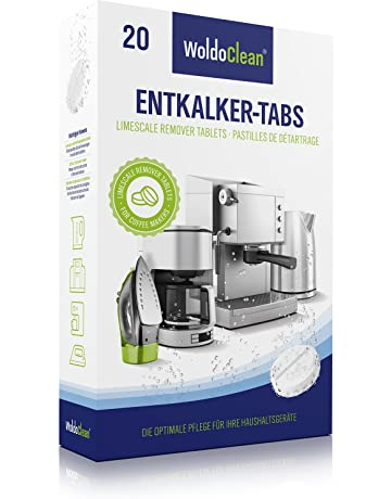 Descalcificador Cafetera Pastillas de descalcificación - 20x 16g Tabletas para máquina de café, Compatible con