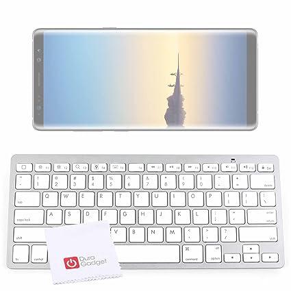 duragadget tastiera  DURAGADGET Tastiera Wireless per Telefono Cellulare Samsung Galaxy ...
