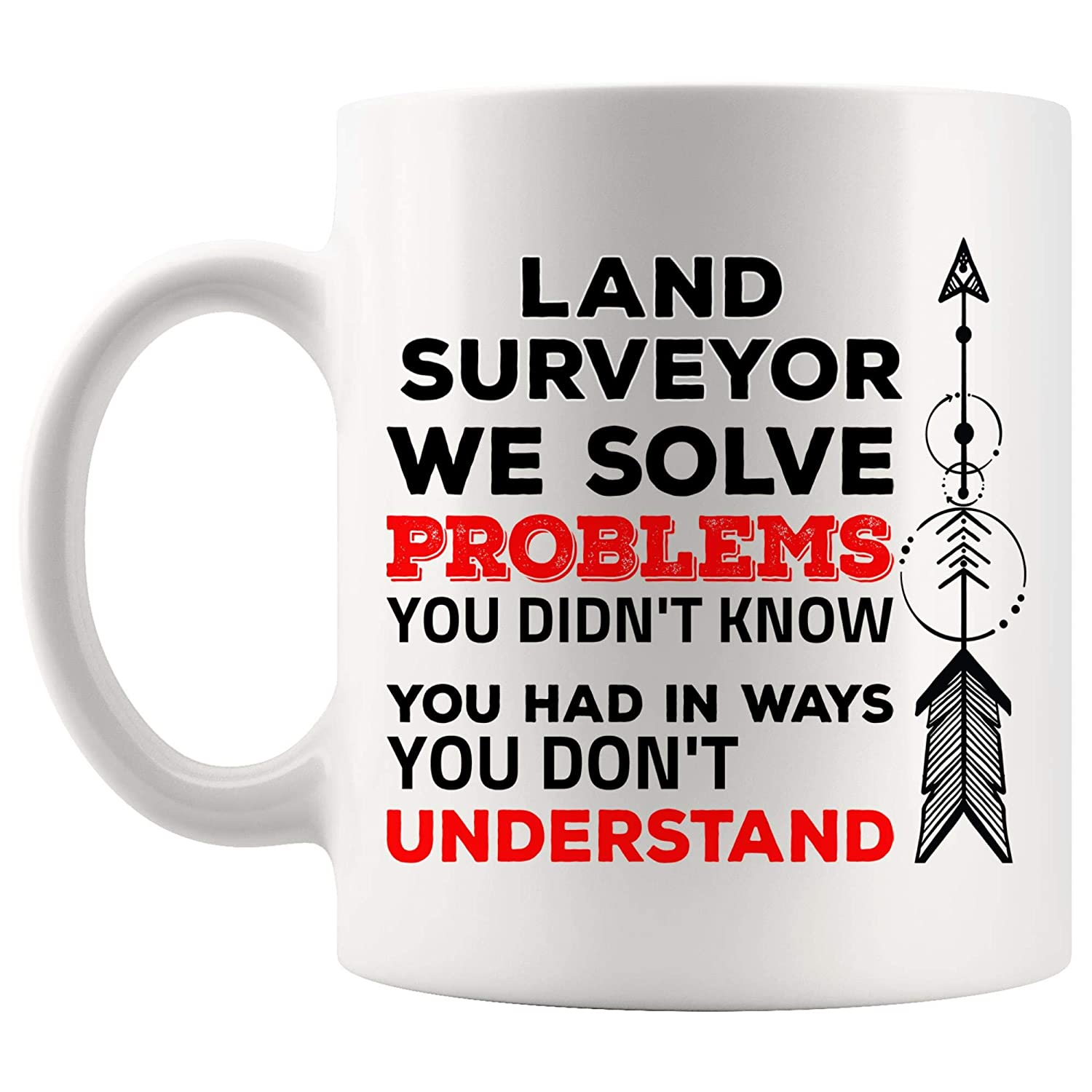 Amazon com: Problem Defition Meaning Of Land Surveyor Funny